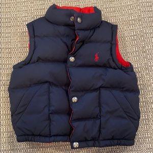 Polo Boy's Bubble Vest